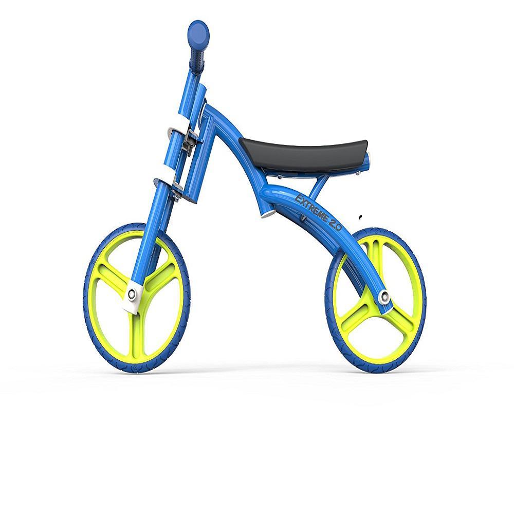 YBike Extreme 2.0 Balance Bike Blue, Blues