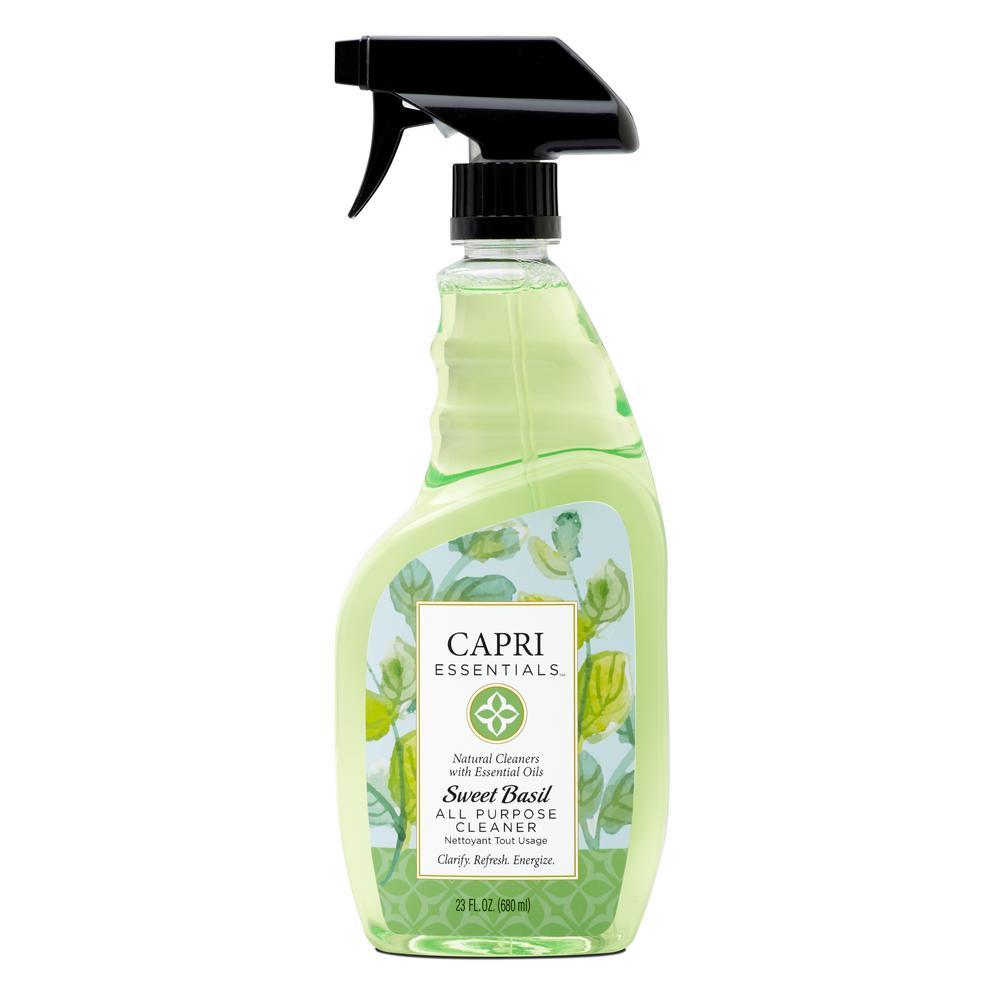 Capri Essentials Sweet Basil All-Purpose Cleaner
