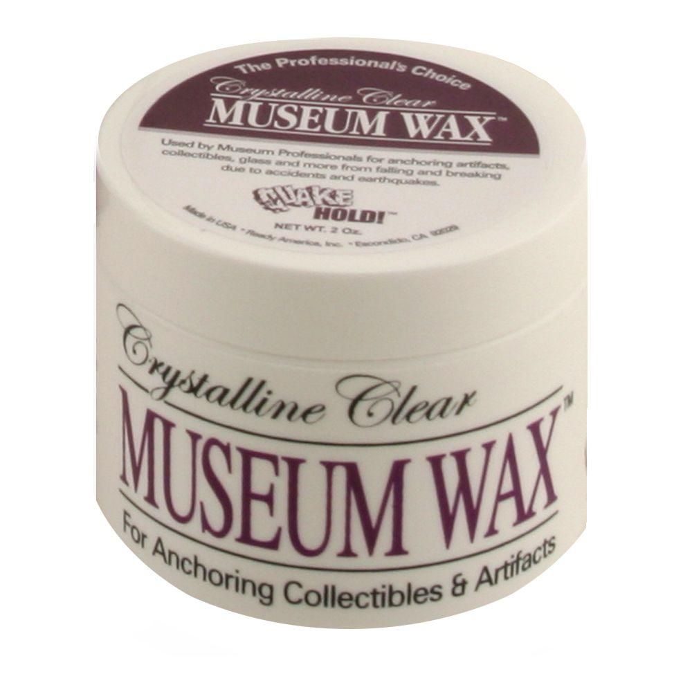 QuakeHOLD! Crystalline Clear Museum Wax -2 oz