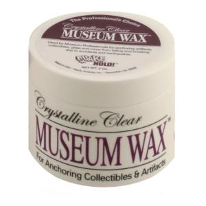 New Free Shipping To Have A Long Historical Standing 2 Oz Crystalline Clear Museum Wax Quake Hold!