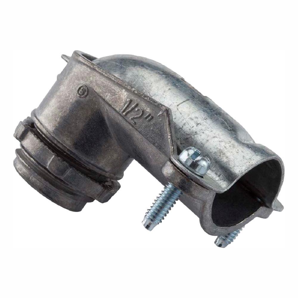 3/8 in. Flexible Metal Conduit (FMC) 90° Connectors (35-Pack)