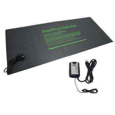 48 in. x 20.5 in. Quad Tray Heat Mat with Thermostat