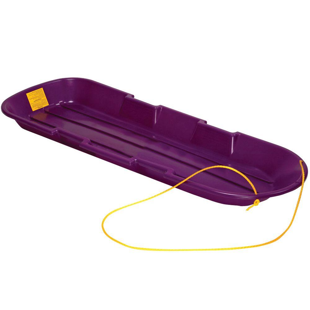 emsco esp series 48 in two rider toboggan sled in purple 2914p