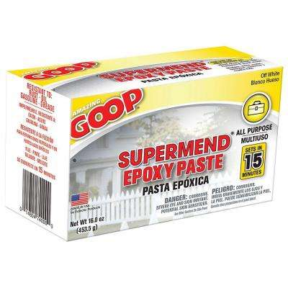 16 oz. Super Mend Epoxy Paste Kit (6-Pack)