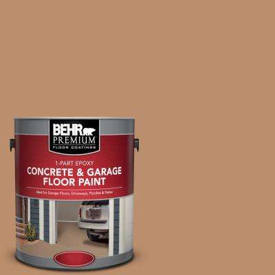 1 gal. #PFC-18 Sonoma Shade 1-Part Epoxy Satin Interior/Exterior Concrete and Garage Floor Paint