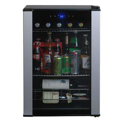 4-Bottles or 90-Cans Single Zone Wine and Beverage Center