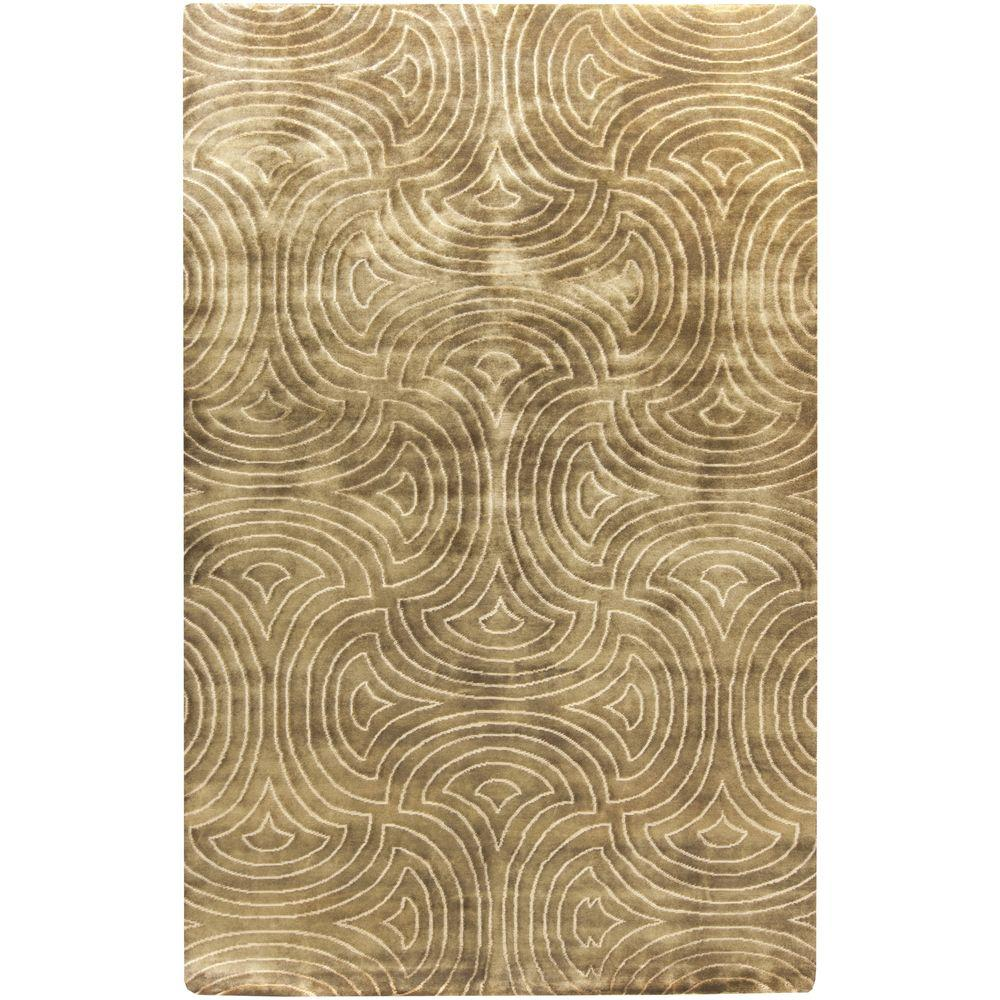 Epping Chocolate 5 ft. x 8 ft. Indoor Area Rug