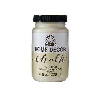 Home Decor 8 oz. Sheepskin Ultra-Matte Chalk Finish Paint
