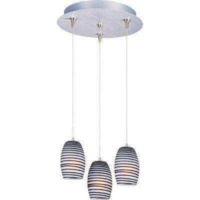 Chocolate Swirl 3-Lt RapidJack Pendant and Canopy