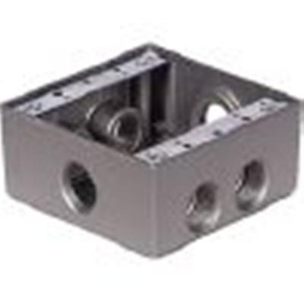 2-Gang Universal Weatherproof Electrical Box