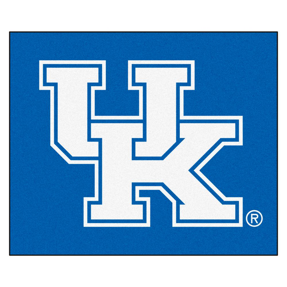 FANMATS University of Kentucky 5 ft. x 6 ft. Tailgater Rug