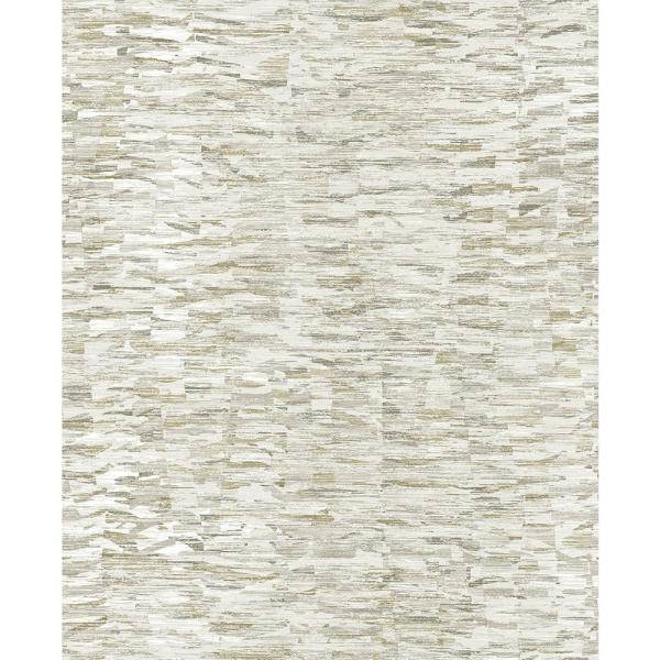A-Street 56.4 sq. ft. Nuance Taupe Abstract Texture Wallpaper 2793-24738