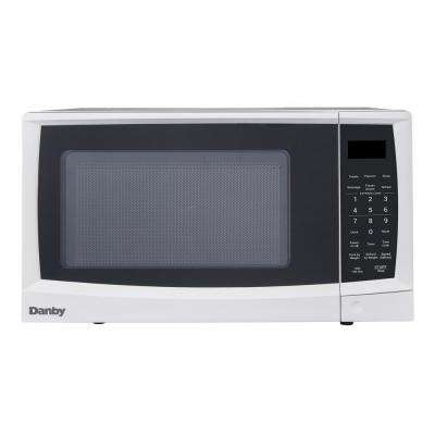 0.7 cu. ft. Countertop Microwave in White