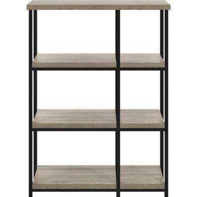Seneca Weathered Oak Bookcase