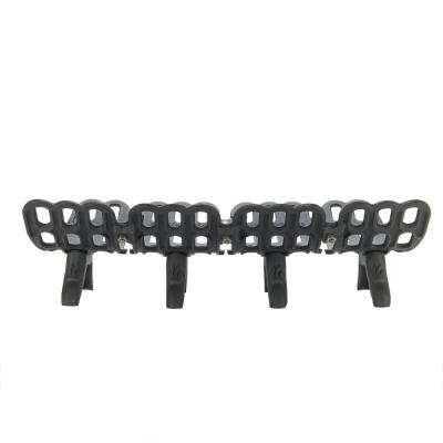 30 in. Cast Iron Fireplace Grate with 2.5 in. Legs