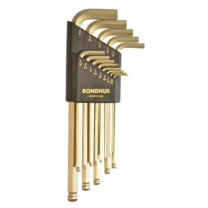 Click here to buy Bondhus Standard Ball End Long Arm L-Wrench Set with GoldGuard Finish (13-Piece) by Bondhus.