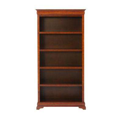 "Louis Philippe Sequoia 36"" W 5 Shelf Open Bookcase"