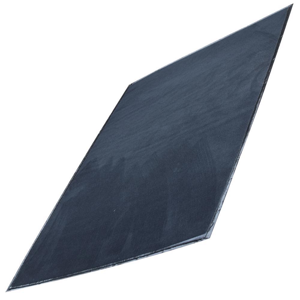 32 in. x 48 in. Black BBQ Mat