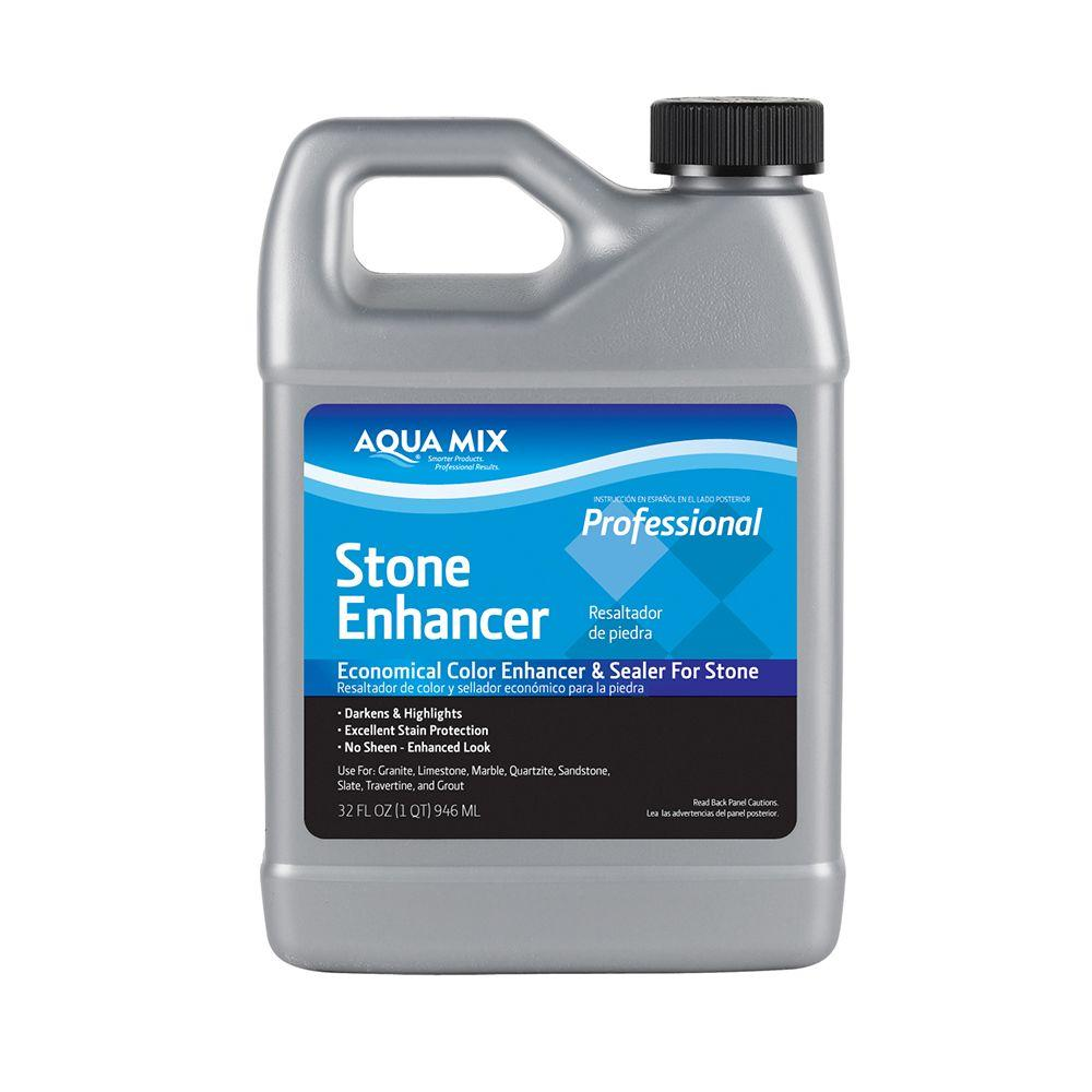 Custom Building Products Aqua Mix 1 Qt Stone Enhancer
