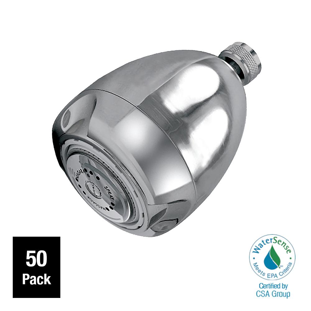 Niagara Conservation Earth Massage 3-Spray 2.0 GPM 2.6875 in. Fixed ...