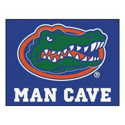 University of Florida Blue Man Cave 2 ft. 10 in. x 3 ft. 9 in. Accent Rug
