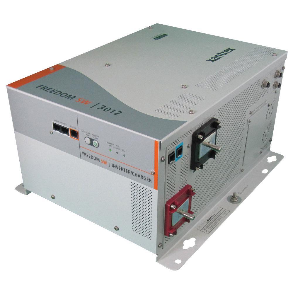 Xantrex Freedom Sw 2024 Inverter Charger 2000 Watt 50 Amp 24 Volt True Sine Wave