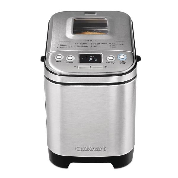 2 lb. Stainless Steel with Gluten-Free Setting Bread Maker