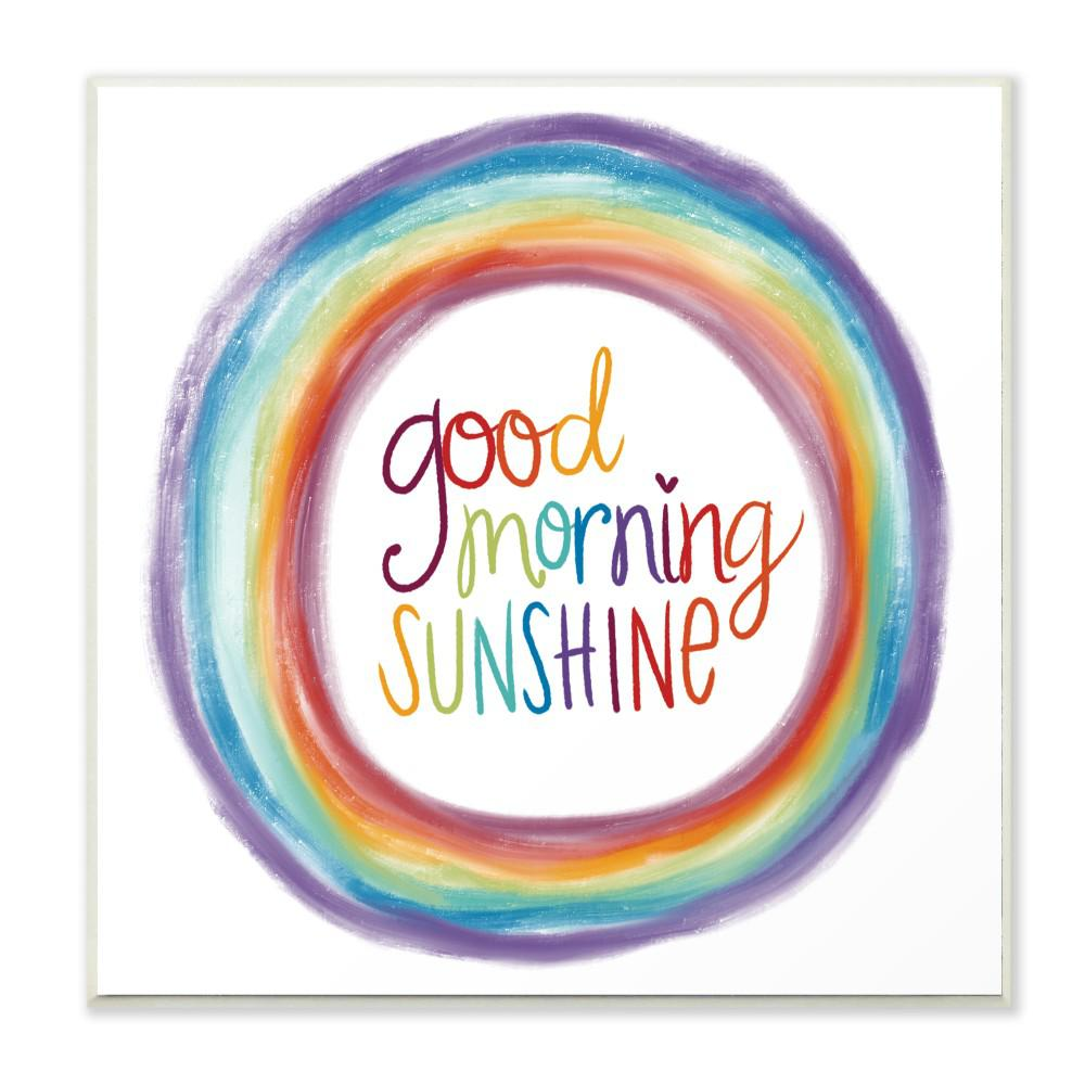 Stupell Industries 12 In X 12 In Quot Good Morning Sunshine
