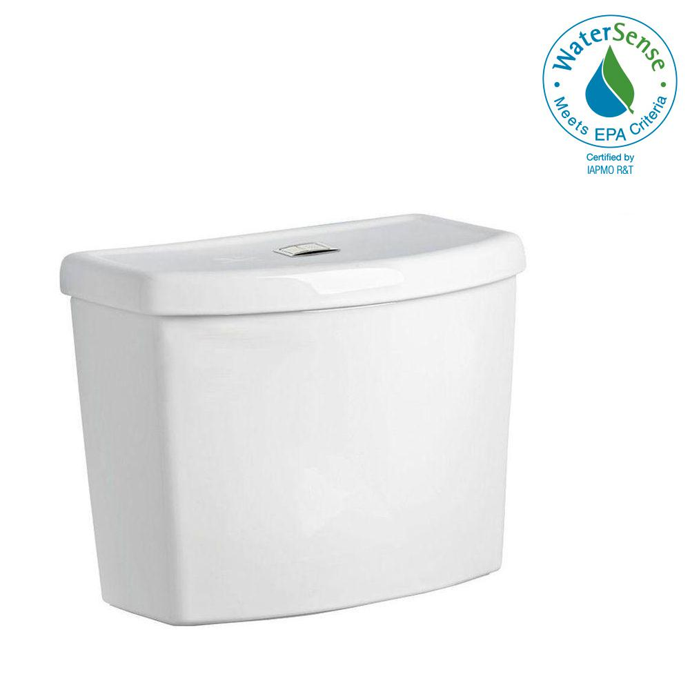 American Standard Studio Dual Flush 1116 Gpf Toilet Tank Only In