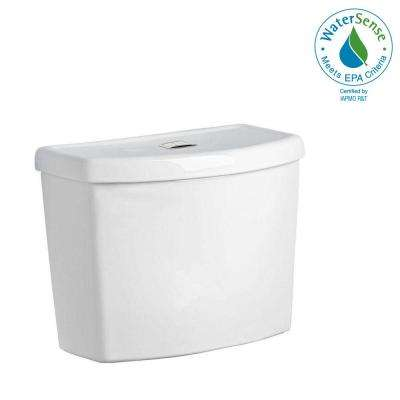 Studio Dual Flush 1.1/1.6 GPF Toilet Tank Only in White