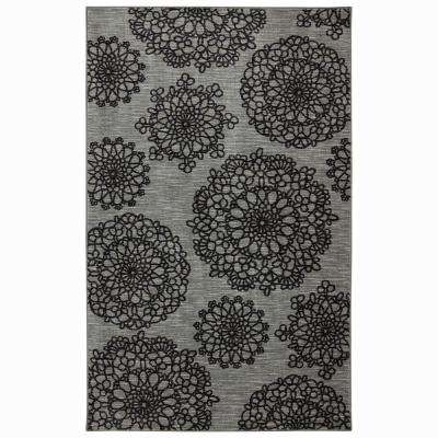 Naples Palto Alto Gray 5 ft. x 8 ft. Indoor Area Rug