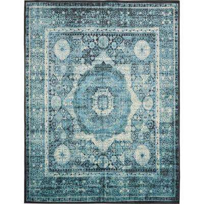 Istanbul Blue 13 ft. x 19 ft. 8 in. Area Rug