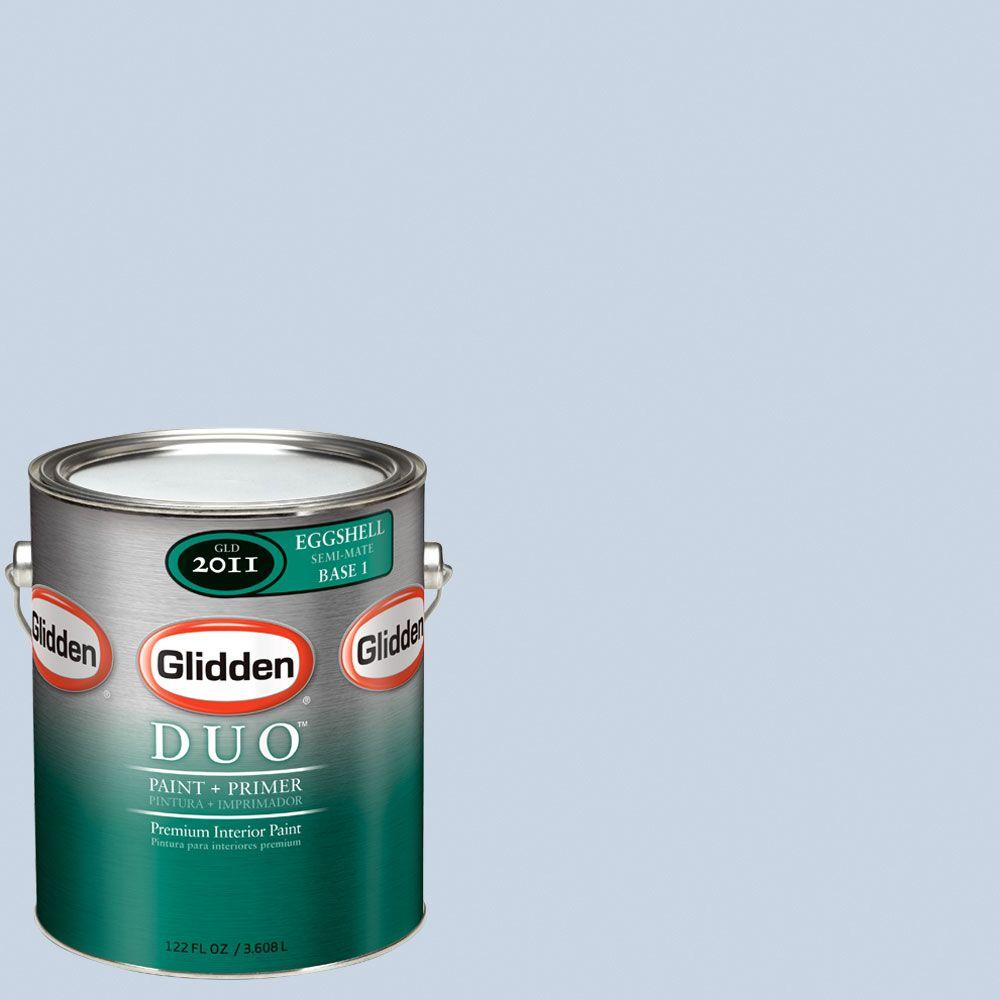 Glidden DUO Martha Stewart Living 1-gal. #MSL144-01E Etched Glass Eggshell Interior Paint with Primer-DISCONTINUED