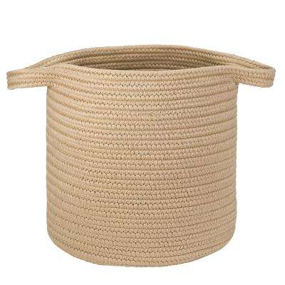 16 in. x 16 in. x 20 in. Sandcastle Addison Braided Laundry Basket