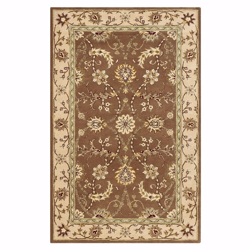 Home Decorators Collection Collins Brown 6 ft. x 9 ft. Area Rug