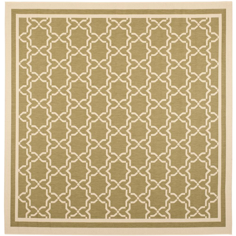 Outdoor Rug 7 X 10: Safavieh Courtyard Green/Beige 7 Ft. 10 In. X 7 Ft. 10 In