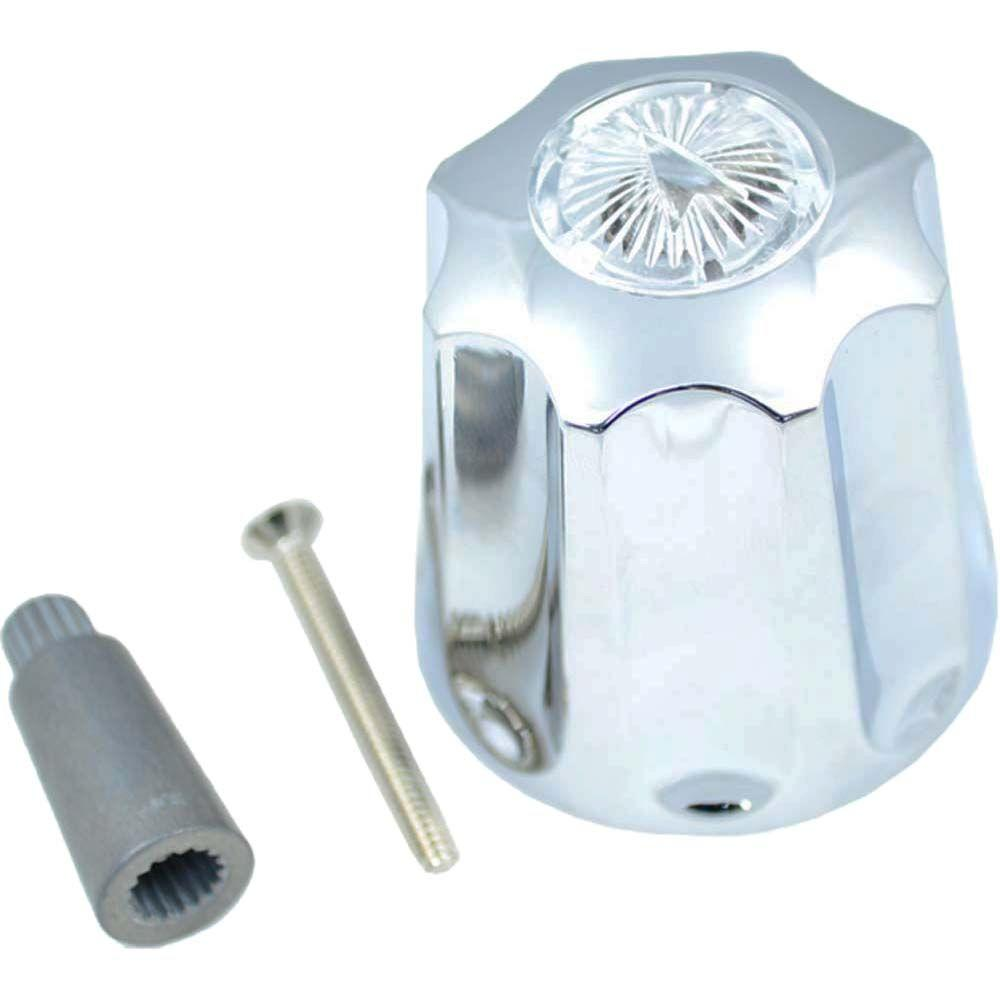 PartsmasterPro Tub and Shower Diveter Handle with Multi-Fit Adapters ...