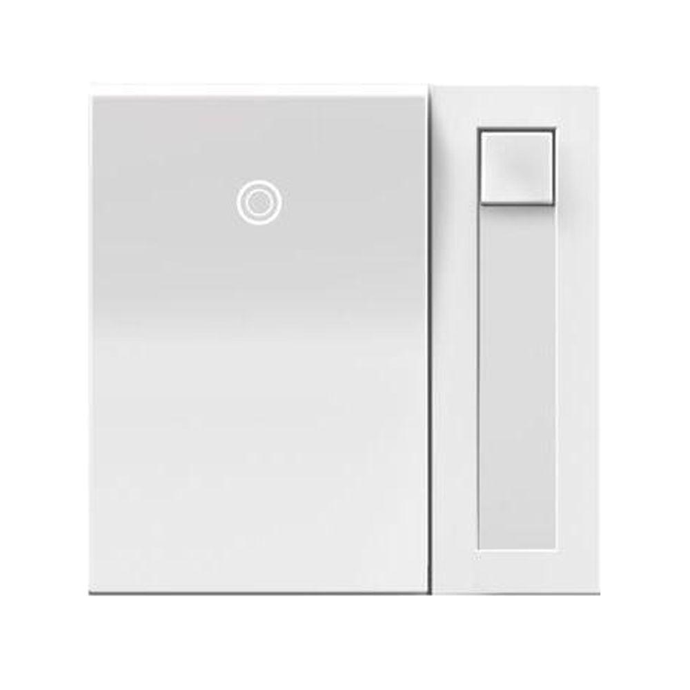 Legrand adorne 700-Watt Single Pole 3-Way for Incandescent and Halogen Lights Paddle Dimmer - White