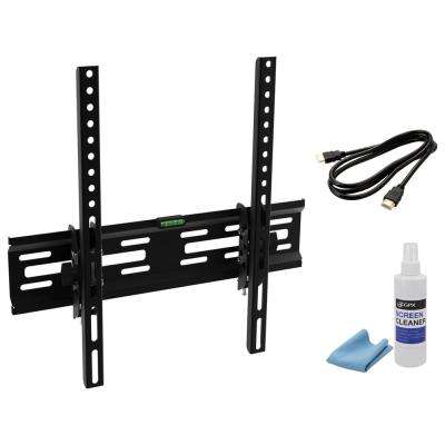 Fixed/Tilt TV Mount Kit for TVs 28 in. to 60 in. with 20° Tilt up to 99 lbs.