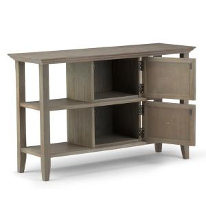 Tremendous Simpli Home Acadian Solid Wood 48 In Wide Rustic Console Ibusinesslaw Wood Chair Design Ideas Ibusinesslaworg