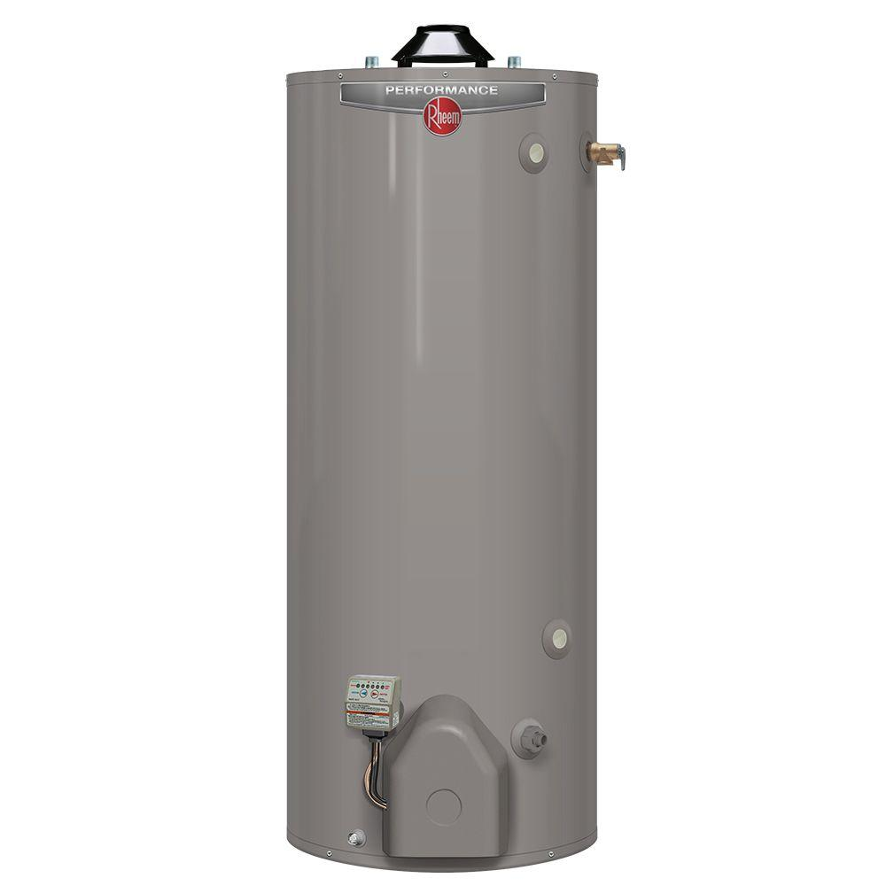 Rheem Performance Platinum 50 Gal Tall 12 Year 40 000 Btu