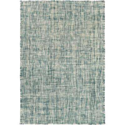 Liberty Teal 2 ft. x 3 ft. Accent Rug