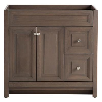 Brinkhill 36 in. W x 34 in. H x 22 in. D Bath Vanity Cabinet Only in Flagstone