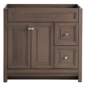 Home Decorators Collection Brinkhill 36 in. W Bath Vanity Cabinet ...