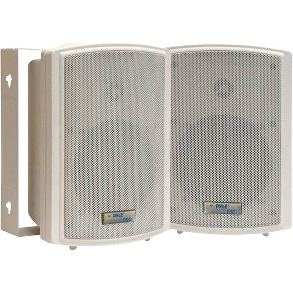 Pyle 5.25 in. Indoor/Outdoor Waterproof Speaker with 30-Watt 70-Volt Transformer