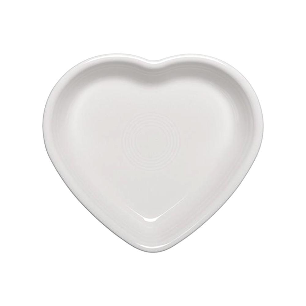 17 oz. White Medium Heart Bowl