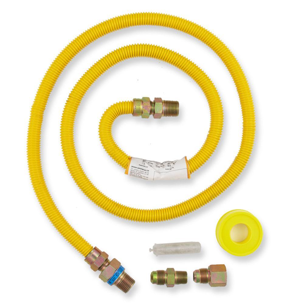 Everbilt 5 ft. Gas Dryer Connector Kit