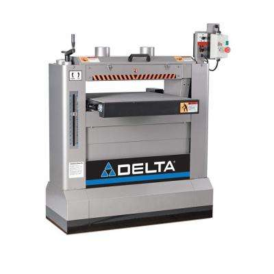 230-Volt 3HP 26 in. Industrial Dual Drum Sander