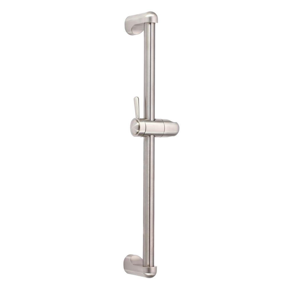 Danze 24 in. Standard Slide Bar in Brushed Nickel