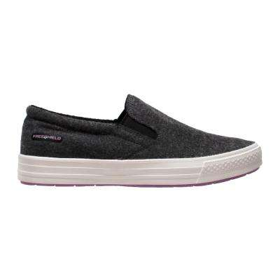 Women's Size 7 Charcoal Wool Slip-On Casual Shoes